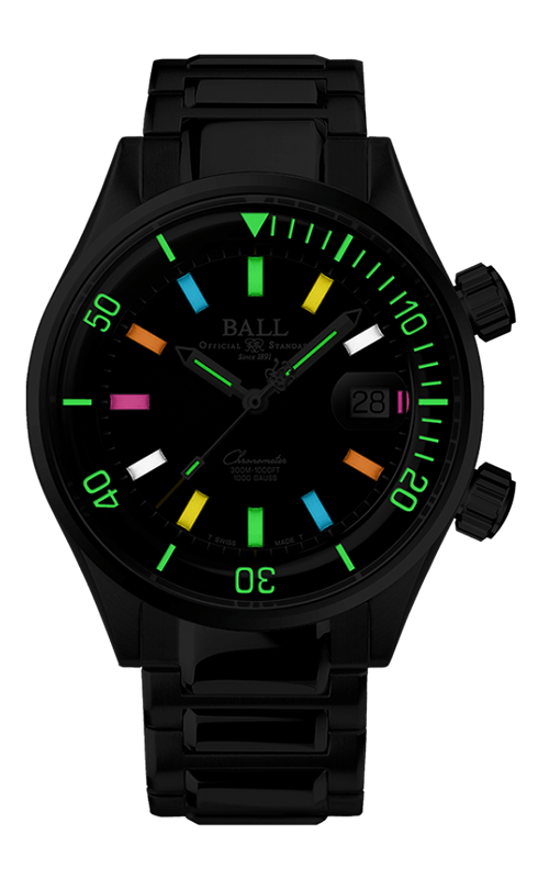 Ball Diver DM2280A-S1C-BKR 2