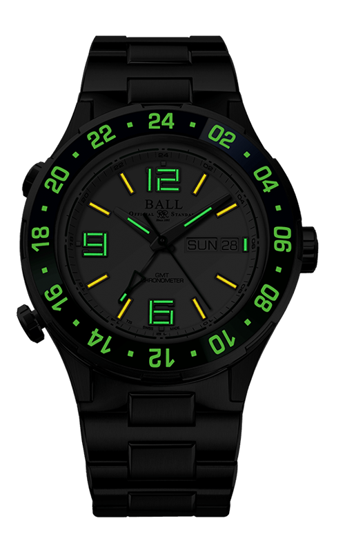 Ball Marine GMT DG3030B-S9CJ-WH 2