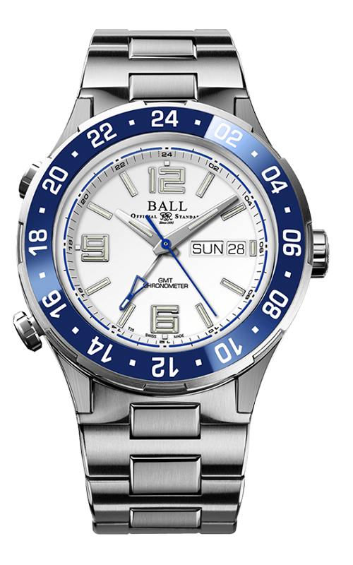 Ball Marine GMT DG3030B-S6CJ-WH