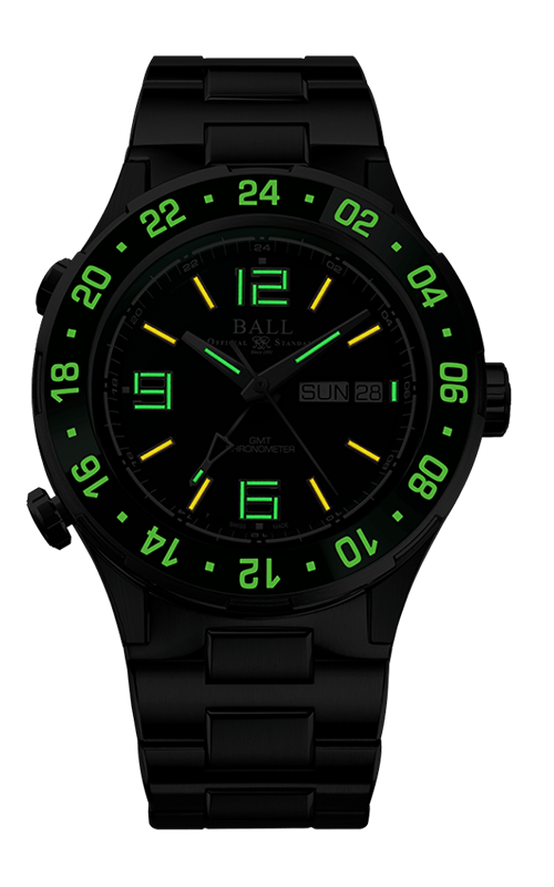 Ball Marine GMT DG3030B-S5C-GR 2
