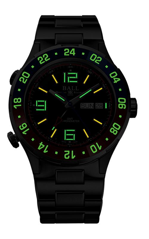 Ball Marine GMT DG3030B-S4C-BK 2
