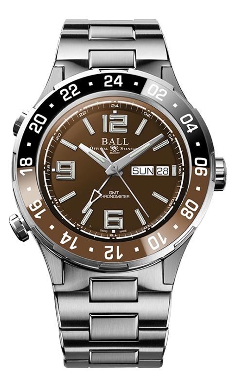 Ball Marine GMT DG3030B-S3C-BR
