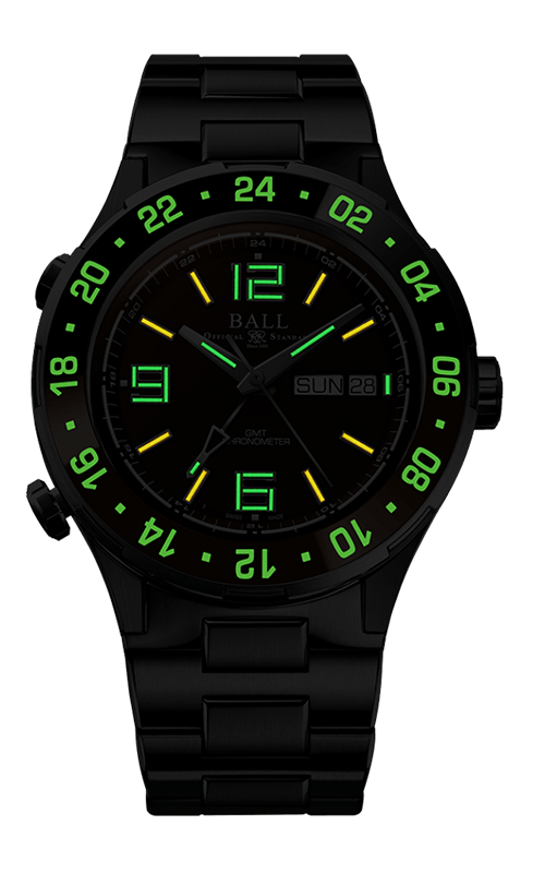Ball Marine GMT DG3030B-S3C-BR 2