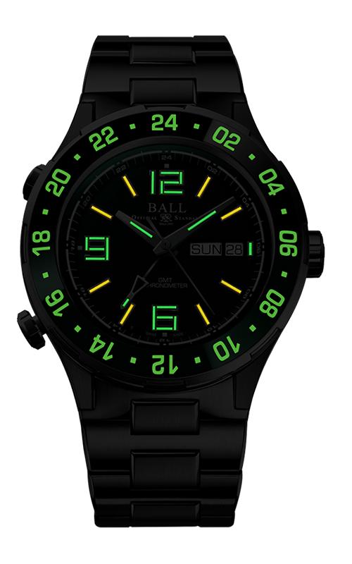 Ball Marine GMT DG3030B-S2C-GR 2