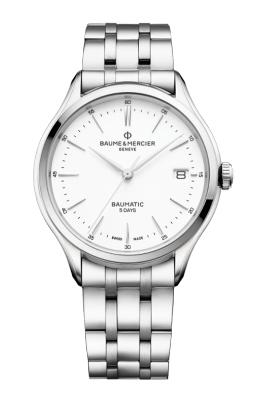 Baume & Mercier Clifton Baumatic Watch MOA10400 product image