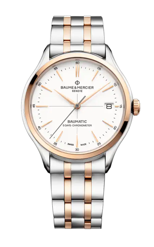 Baume & Mercier Clifton Baumatic Watch M0A10458 product image