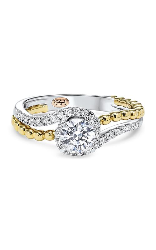 Bellissima Engagement ring RG58504SM-4WPB product image
