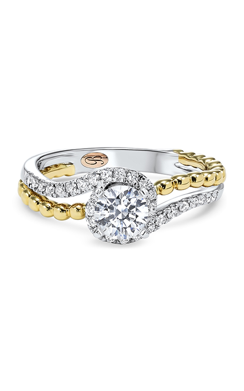 Bellissima Engagement Ring RG58504SM-4WPB product image