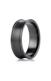 Forge Titanium Wedding Band TIRECF87500BKT