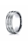 Forge Cobalt Wedding Band RECF58180PT