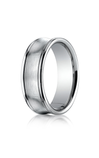 Benchmark Men's Wedding Bands of Benchmark Design Collection RECF8750014KW