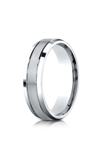 Benchmark Men's Wedding Bands of Benchmark Design Collection CF6643614KW