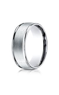 Benchmark Men's Wedding Bands of Benchmark Design Collection RECF7802S14KW