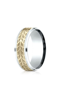 Benchmark Men's Wedding Bands of Benchmark Design Collection CF81836914KWY