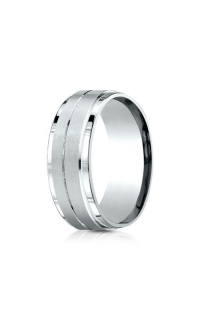 Benchmark Men's Wedding Bands of Benchmark Design Collection CF6835214KW