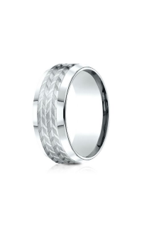 Benchmark Men's Wedding Bands of Benchmark Design Collection CF6833914KW