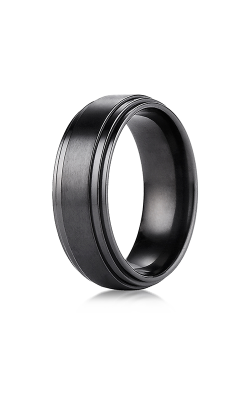 Forge Titanium Wedding Band TICF68100BKT