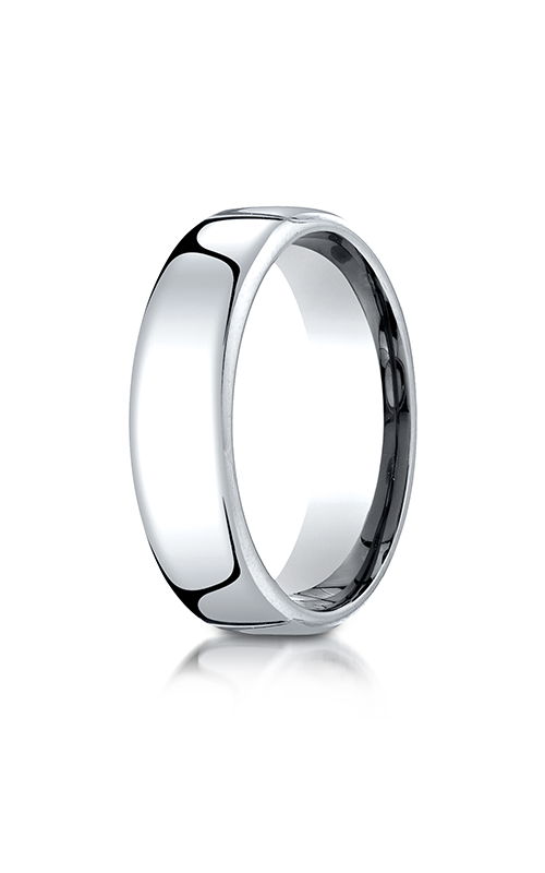 Benchmark European Comfort-Fit Wedding band PTEUCF165PT product image