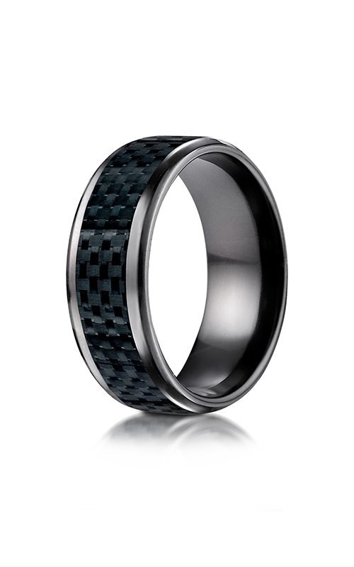 Benchmark Titanium Wedding band TICF68900CFBKT product image