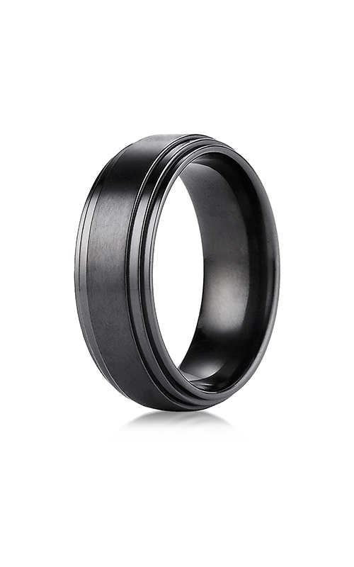 Benchmark Titanium Wedding band TICF68100BKT product image