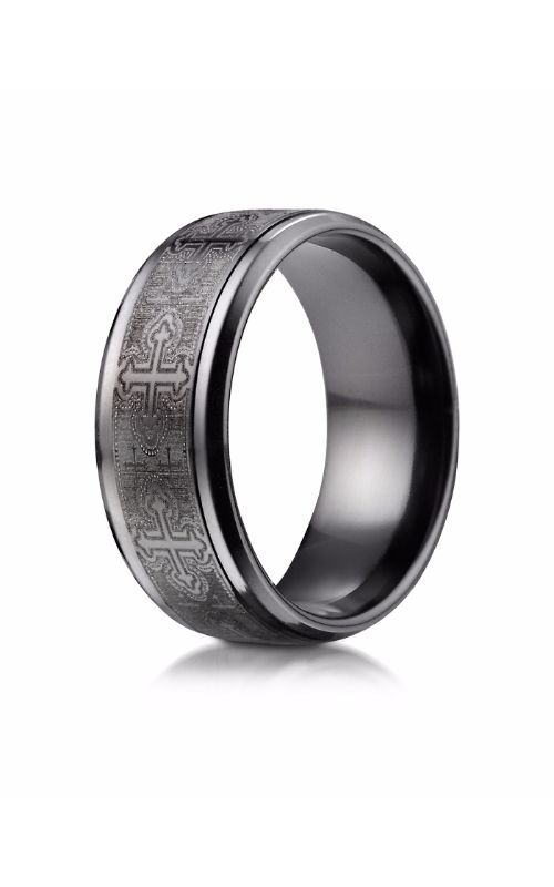 Benchmark Titanium Wedding band TICF69100BKT product image
