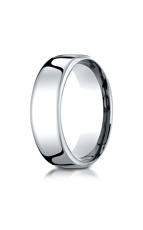 Benchmark European Comfort-Fit Wedding band PTEUCF175P product image