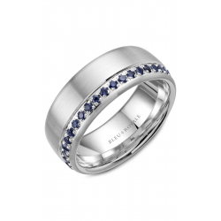 Bleu Royale Wedding Band RYL-015WS85 product image