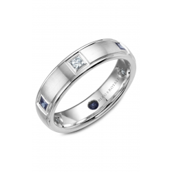 Bleu Royale Wedding Band RYL-016WDS55 product image