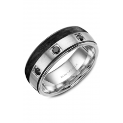 Bleu Royale Wedding Band RYL-019WBD85 product image