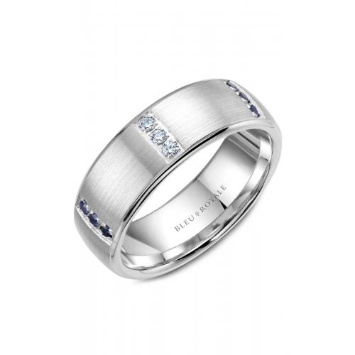 Bleu Royale Wedding band RYL-008WDS75 product image