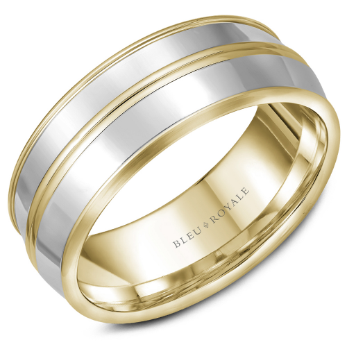 Bleu Royale Wedding band RYL-013YWY85 product image