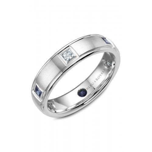 Bleu Royale Wedding band RYL-016WDS55 product image