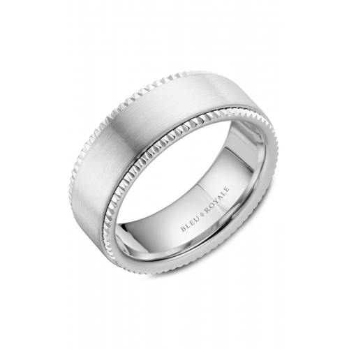 Bleu Royale Wedding band RYL-028W8 product image
