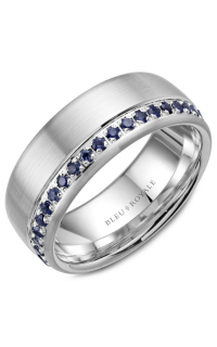 Bleu Royale Men's Wedding Bands RYL-015WS85