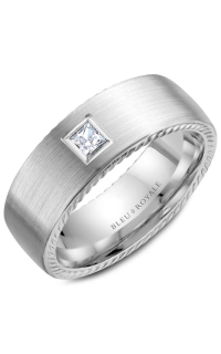 Bleu Royale Men's Wedding Bands RYL-021WD8