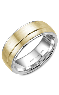 Bleu Royale Men's Wedding Bands Wedding band RYL-002YW85 product image
