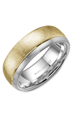 Bleu Royale Men's Wedding Bands Wedding Band RYL-007YW75 product image