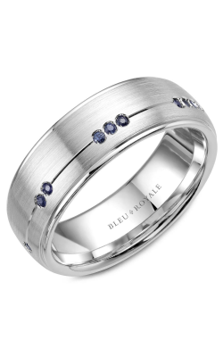 Bleu Royale Wedding Band Men's Wedding Bands RYL-011WS75 product image
