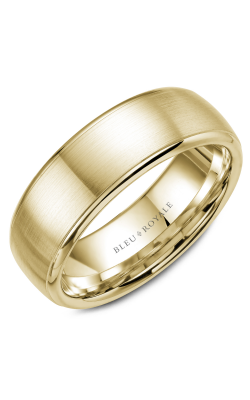 Bleu Royale Wedding Band Men's Wedding Bands RYL-012Y75 product image