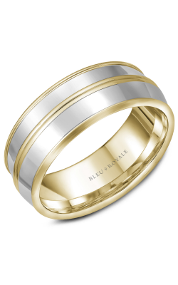 Bleu Royale Men's Wedding Bands RYL-013YWY85 product image