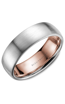 Bleu Royale Wedding Band Men's Wedding Bands RYL-017WR65 product image