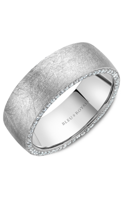Bleu Royale Men's Wedding Bands Wedding Band RYL-020WD8 product image