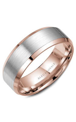 Bleu Royale Men's Wedding Bands Wedding Band RYL-023WR75 product image
