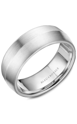 Bleu Royale Men's Wedding Bands Wedding Band RYL-026W8 product image