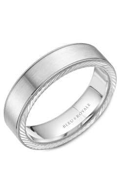 Bleu Royale Men's Wedding Bands Wedding Band RYL-078W6 product image