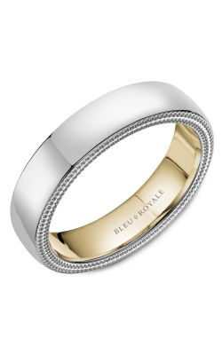 Bleu Royale Men's Wedding Bands Wedding Band RYL-079WY55 product image