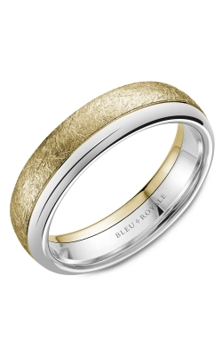 Bleu Royale Men's Wedding Bands Wedding Band RYL-081YW6 product image