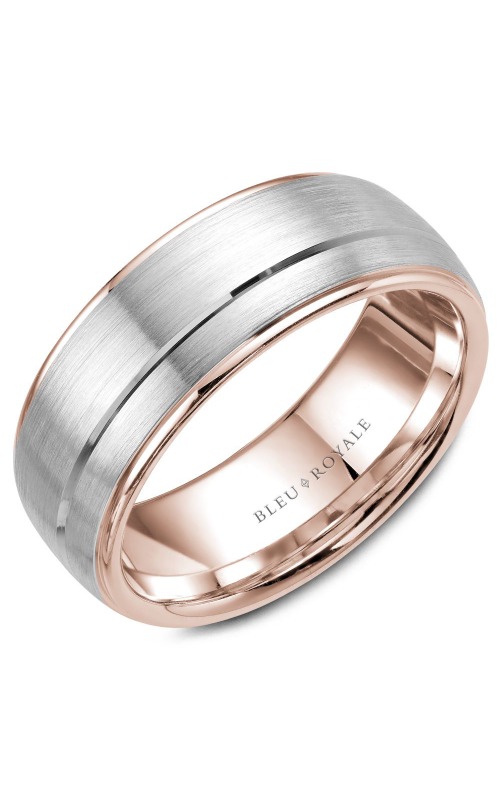 Bleu Royale Men's Wedding Bands Wedding band RYL-002WR85 product image