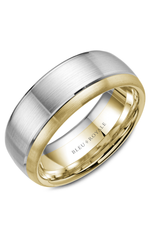 Bleu Royale Men's Wedding Bands Wedding band RYL-003WY85 product image