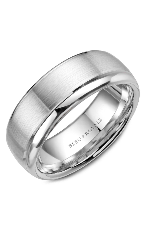 Bleu Royale Wedding band Men's Wedding Bands RYL-006W75 product image